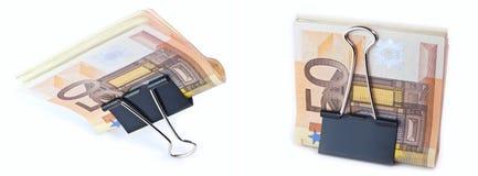 Die getrennten 50 Euro Stockfoto