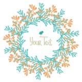 Die gezeichnete Hand blüht Mimose Vektor Lizenzfreies Stockbild