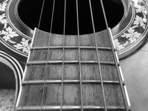 Die Gitarre Stockbild