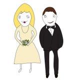 Die glücklichen Paare Lizenzfreie Stockfotos