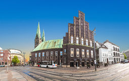 Die Glocke (The Bell) is a concert hall in the centre of Bremen Stock Photography
