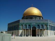 Die goldene Haube in der Montierung des Tempels Lizenzfreie Stockbilder
