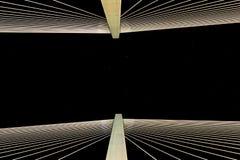 Die goldene Hornbrücke stockbild