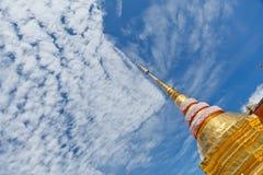 Die goldene Pagode Stockbild