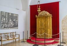Die goldene Torah-Arche Lizenzfreie Stockfotos