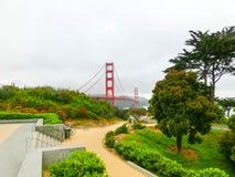 Die Goldtorbrücke in einem Nebel in San Francisco Lizenzfreies Stockfoto