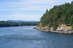 Die Golf-Inseln in Kanada stockbild