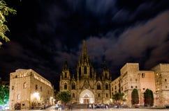 Die gotische Kathedrale in Barcelona Stockfoto