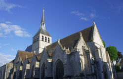 Die gotische Kirche von StCroix Stockbilder