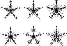 Die gotischen Sterne Stockbild
