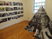 Die 2012 Gouverneur-Insel Art Fair 53 Stockfotografie