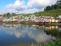 Die größere Insel von Chiloé lizenzfreie stockfotos