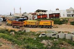 Die größte bedoin Stadt Stockbild