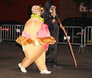 Die größte Halloween-Parade in der Welt Stockbild