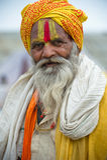 Die größte menschliche Versammlung Welt Indiens Kumbh Mela- Lizenzfreies Stockbild