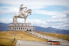 Die größte Statue der Welt von Dschingis Khan Lizenzfreies Stockbild