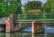 Die grüne Brücke Stockbilder
