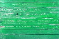 Die grüne hölzerne Beschaffenheit mit natürlichen Mustern Lizenzfreie Stockfotos