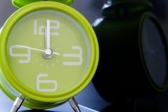 Die grüne Uhr Stockfoto