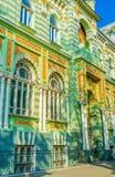 Die grüne Villa Lizenzfreie Stockfotografie