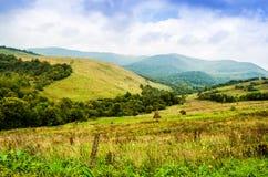 Die grünen Berge Stockfotografie