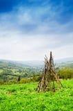 Die grünen Berge Lizenzfreie Stockbilder