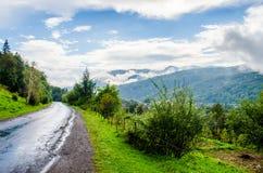 Die grünen Berge Lizenzfreies Stockbild