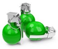 Die grünen granades Lizenzfreie Stockfotos