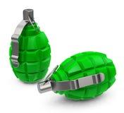 Die grünen granades Lizenzfreies Stockfoto