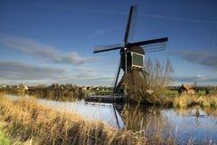 Die Graaflandse-Windmühle Stockfoto