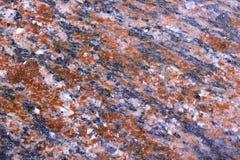 Die Granitwand Lizenzfreie Stockfotos