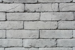 Die graue Backsteinmauerbeschaffenheit Lizenzfreies Stockfoto