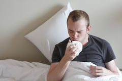 Die Grippe lizenzfreie stockfotos