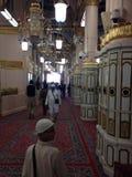 Die großartige heilige Moschee des Gewinns Stockfoto