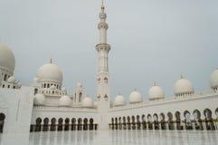 Die großartige Moschee von Abu Dhabi Lizenzfreie Stockfotos