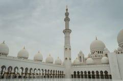 Die großartige Moschee von Abu Dhabi Lizenzfreie Stockbilder