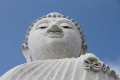 Die große Buddha-Statue Lizenzfreie Stockfotos