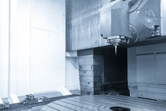Die große fünf Achse CNC-Maschine Lizenzfreies Stockfoto