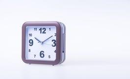 Die große Glocke stellt aufwachen sicher Wecker auf Hintergrund Wecker auf dem backg Stockfotos