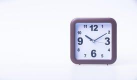 Die große Glocke stellt aufwachen sicher Wecker auf Hintergrund Wecker auf dem backg Stockbilder