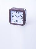 Die große Glocke stellt aufwachen sicher Wecker auf Hintergrund Wecker auf dem backg Stockfoto