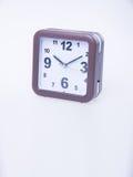 Die große Glocke stellt aufwachen sicher Wecker auf Hintergrund Wecker auf dem backg Stockfotografie