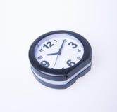 Die große Glocke stellt aufwachen sicher Wecker auf Hintergrund Wecker auf dem backg Lizenzfreie Stockfotos