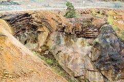 Die große Grube stockfotos
