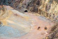 Die große Grube lizenzfreies stockfoto