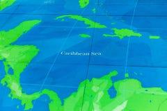Die große Karte - eine gigantische Karte aller Meere, Ozeane und Kontinente in einer der Hallen des nationalen Seemuseums, London lizenzfreies stockfoto