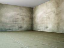 Die große leere Halle Stockfotos