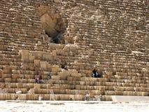 Die große Pyramide Stockfoto