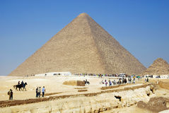 Die große Pyramide Lizenzfreie Stockfotografie