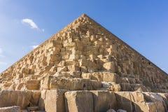 Die große Pyramide von Giseh und von Sphinxe, Kairo, Ägypten stockfoto